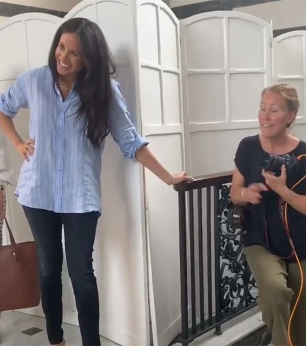 Meghan Gives Sneak Peak Of New Clothing Line In Surprise Video