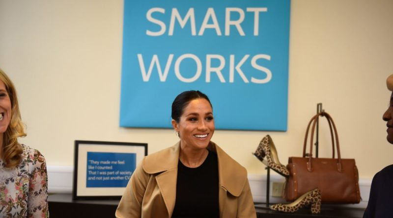Meghan Markle smart works