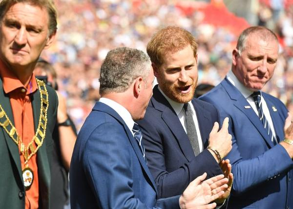 Prince Harry Attended Rugby League Challenge Cup Final At Wembley