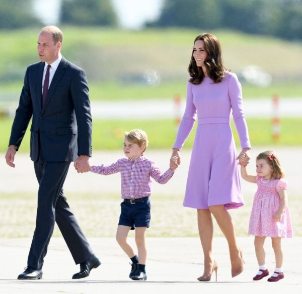 The Palace Reveals Plans For Princess Charlotte's First Day Of School