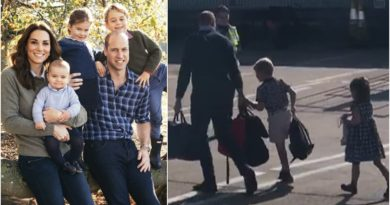 Video: William, Kate And The Children Touch Down In Scotland