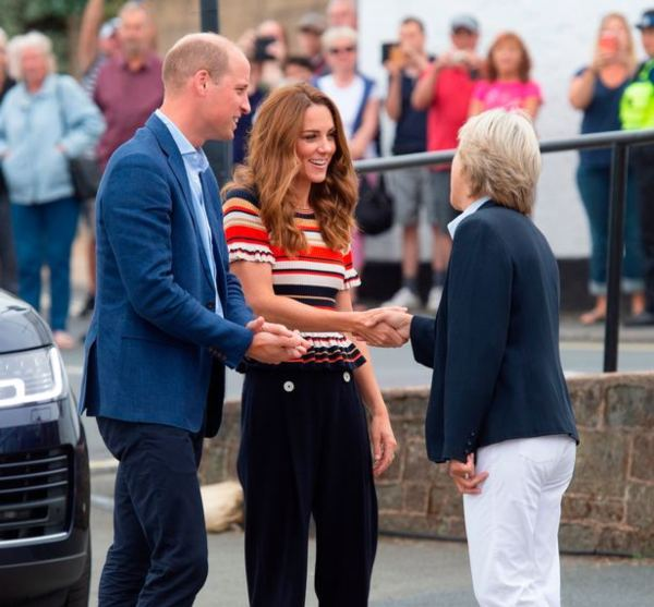 William And Kate Arrived For King's Cup Yachting Regatta