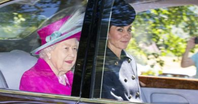 William And Kate Joined The Queen For Church Service In Balmoral