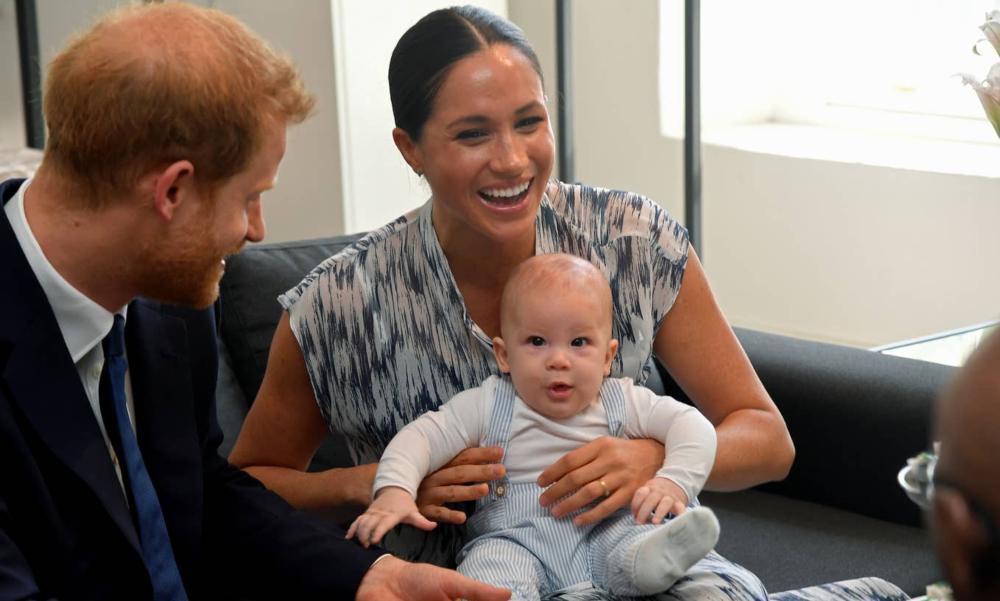 Baby Archie Makes His First Official Appearance On Royal Tour Of Africa