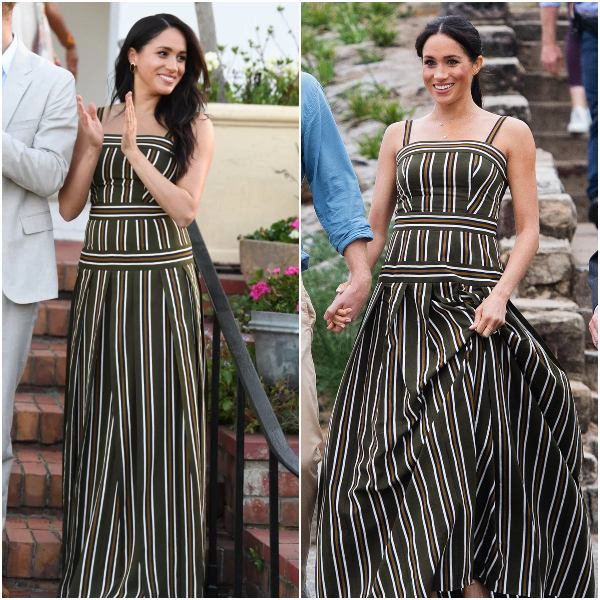 Meghan Recycled One More Dress For British High Commission Dinner With Harry