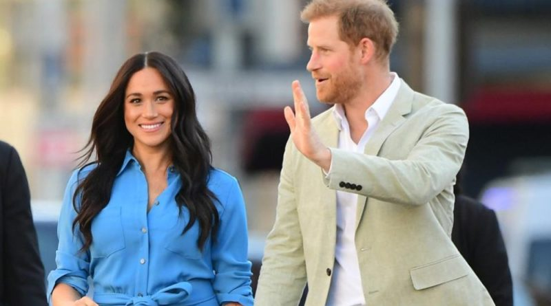 "Harry And Meghan Gave A Cute Answer When Asked ""Where's Archie"""