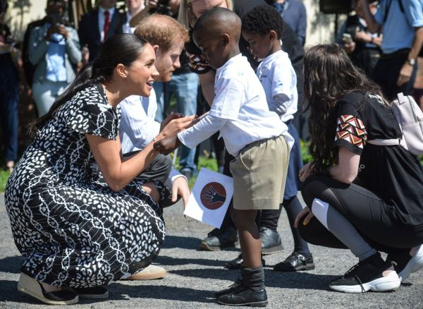 Harry And Meghan Revealed What Archie Did On First Day Of Royal Tour