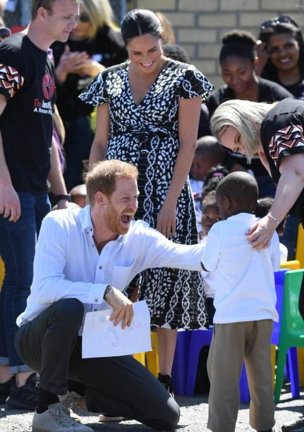 Harry And Meghan Visit Nyanga As First Royal Tour Engagement