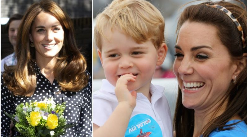 Kate Gushes Over Prince George During Visit At Charity Family Center