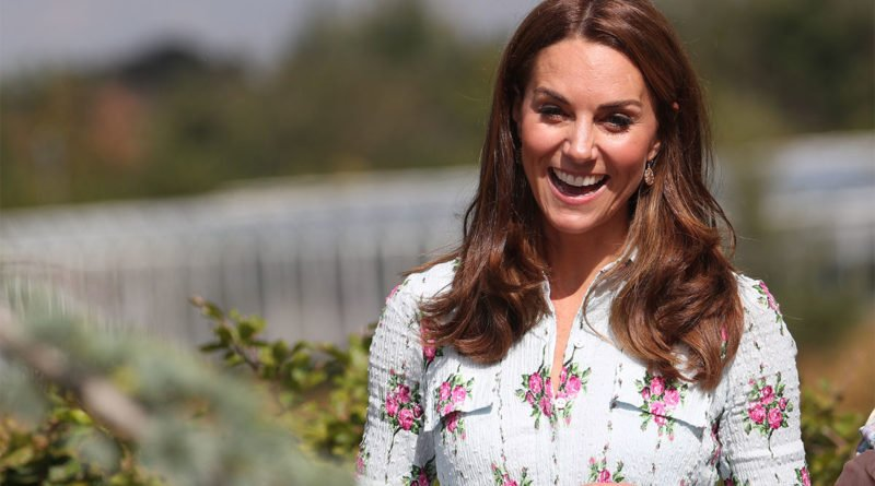 Kate Just Stepped Out To Open New Back To Nature Garden