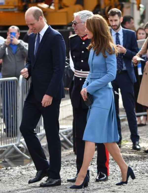 William And Kate Joined Sir David Attenborough For Ship Naming Ceremony