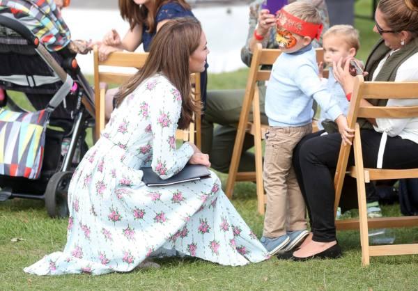 Kate Revealed What Louis Loves Doing In Her Garden