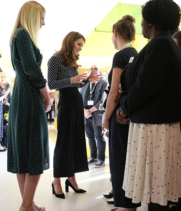 Kate Talks Pregnancy During Surprise Visit At Evelina Children Centre