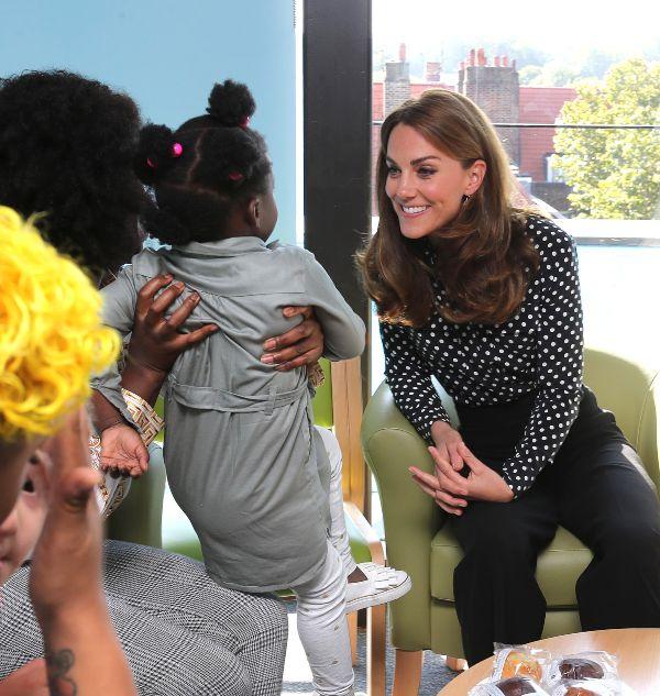 Kate Talks Pregnancy During Surprise Visit At Evelina Children Centre