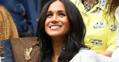 MEGHAN MARKLE PAYS TRIBUTE TO HUSBAND HARRY AND SON ARCHIE WHILE AT US OPEN 200