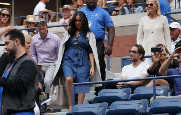 Meghan Cheers On Friend Serena Williams At U.S. Open Final
