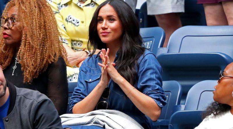 Meghan Cheers On Friend Serena Williams At U.S. Open Final