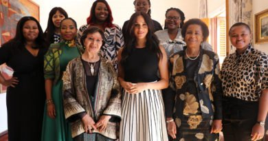Meghan Markle and women activists to _keep at it