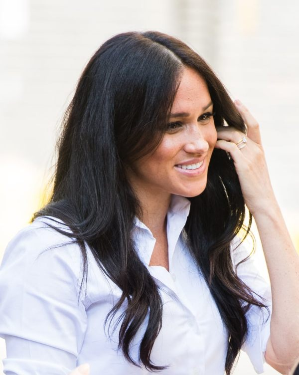 Meghan Steps Out For First Post-Maternity Engagement To Launch Collection