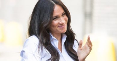 Meghan Steps Out For First Post-Maternity Engagement To Launch Smart Works Collection