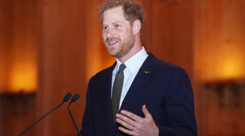 Prince Harry speech