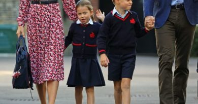 Princess Charlotte Arrived For First Day Of School At Thomas's Battersea