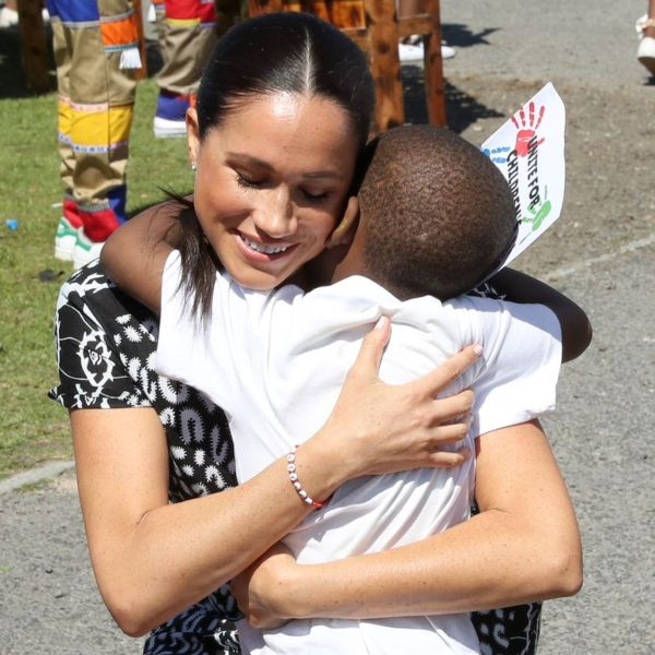 The Meaning Behind Harry And Meghan Matching Bracelets In Nyanga