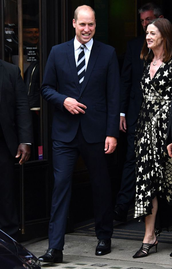 William Just Received The Cutest Gift For Daughter Charlotte At New Bafta's Venue