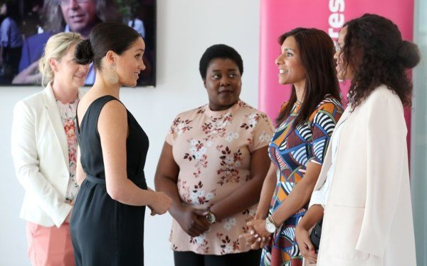 Meghan Steped Out For Her First Solo Event On South Africa Tour