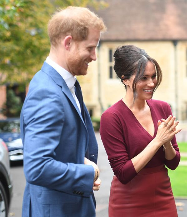Harry Makes Surprise Appearance By Meghan At Roundtable Discussion