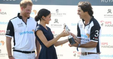 Harry, Meghan and Nacho Figueras