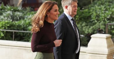 Kate Stepped Out For Surprise Visit At The National History Museum