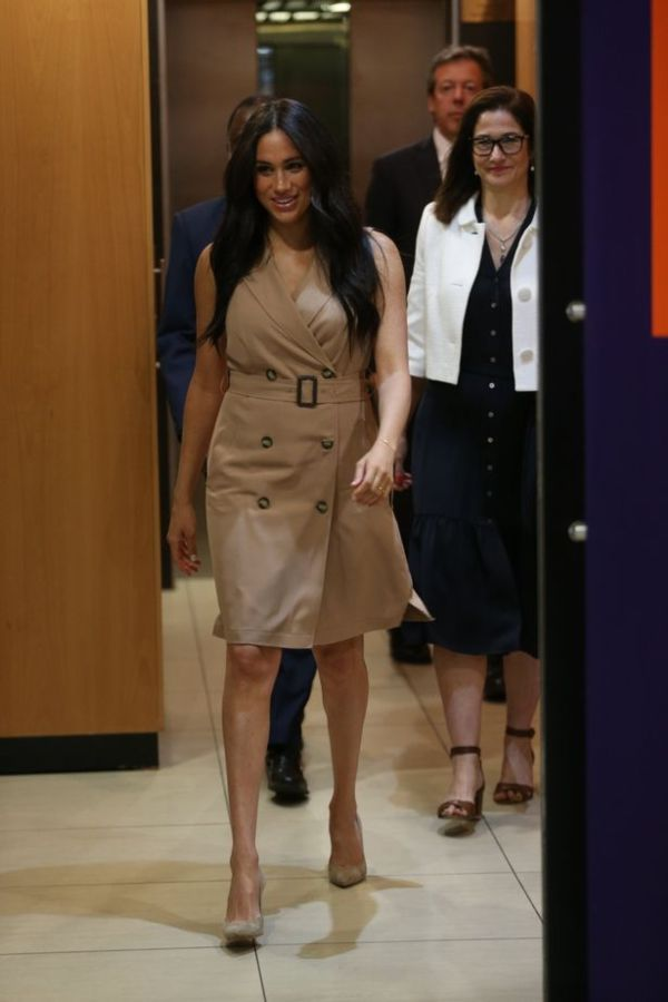 Meghan Makes Solo Visit To University Of Johannesburg