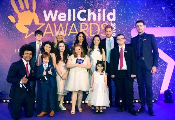 Meghan-Markle-amd-Prince-Harry-at-wellchild-awards