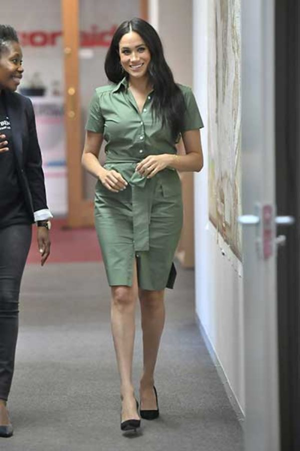 Meghan Markle visit's to ActionAid