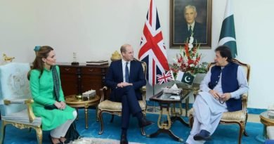 Prince William and Kate met Prime Minister Imran Khan