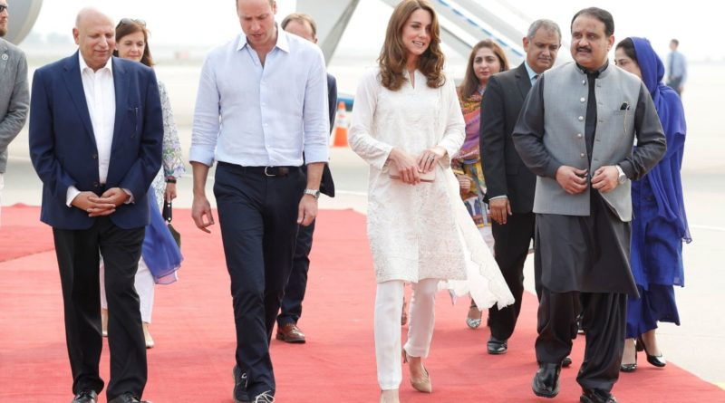 The Duke and Duchess of Cambridge on tour of Pakistan