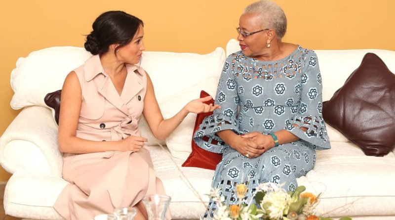 The Meaning Behind Meghan's Dress During Meeting With Nelson Mandela's Widow
