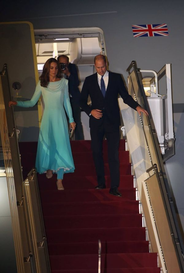 William And Kate Arrive In Pakistan For 'Most Complex Royal Tour Ever'