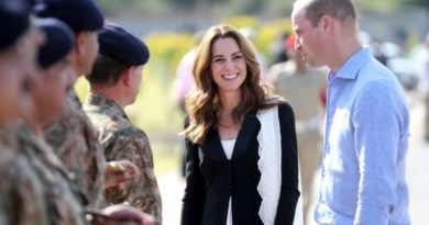William And Kate Visit Army Canine Centre As Last Engagement Of The Tour