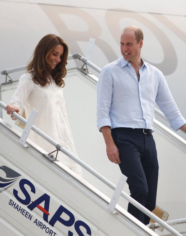 William And Kate Visit Badshahi Mosque On Day 4 Of Pakistan Tour