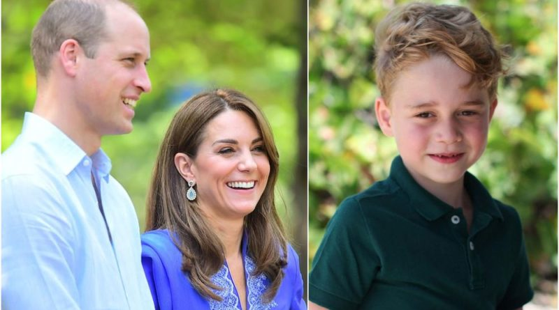 William Shares A Sweet Update On Son George Whilst Visiting Margallah Hills