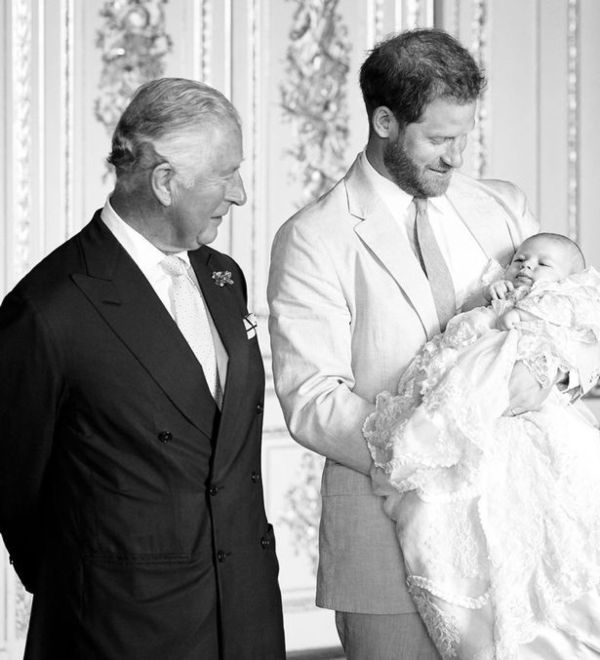 Harry And Meghan Release New Photo Of Archie For Prince Charles' Birthday