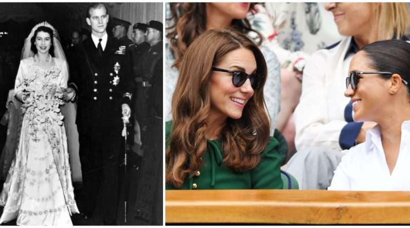 How Kate And Meghan Celebrated The Queen's 72 Wedding Anniversary