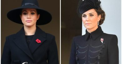 Kate And Meghan Pay Their Respects At Remembrance Sunday Ceremony