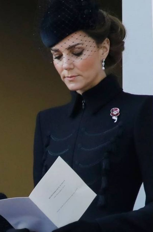 How Kate Paid Tribute To Her Grandmother On Remembrance Sunday