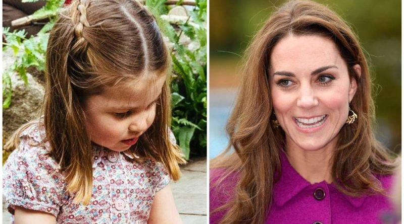 Kate Revealed Daughter Charlotte Favorite Hairstyle