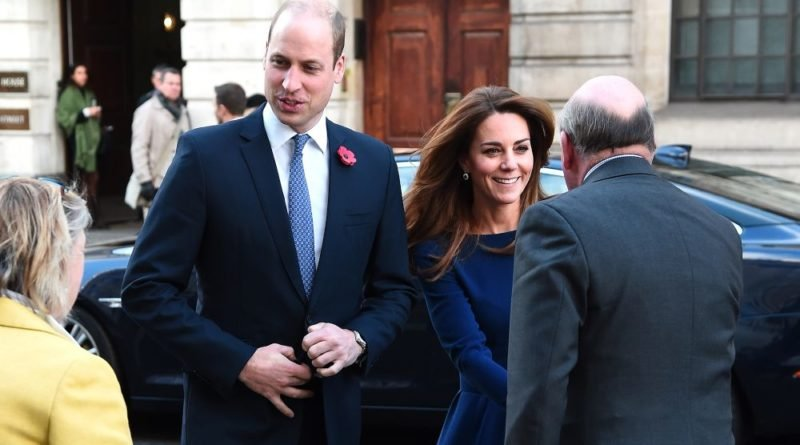 Kate Steps Out Last-Minute Alongside William to Launch New Charity