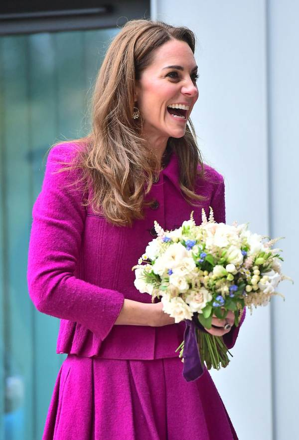 Kate Steps Out To Open A New Children's Hospice In Norfolk