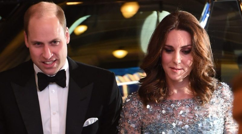 Prince Wiliam and Kate Middleton at Royal Variety Performance 21